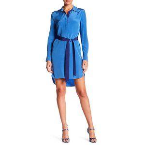 DVS | Silk Long Sleeve Shirt Dress without Sash